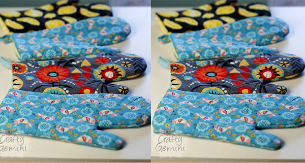 quilted oven mitt video tutorial Craft Gemini