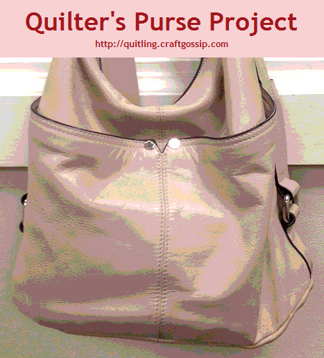 Quilter's Purse Project Logo