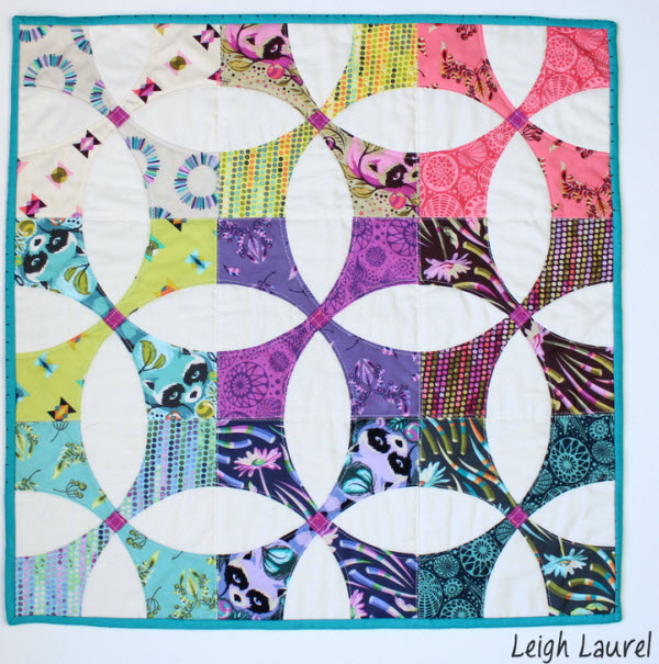 Flowering Snowball Quilt free pattern