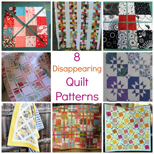 disappearing #quilting #freepatterns for  quilt projects and ideas