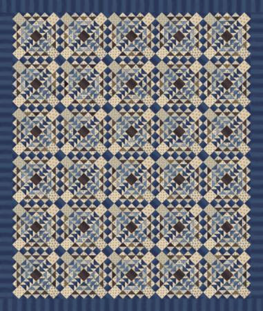 Union Blues Quilt Project Sheet Moda