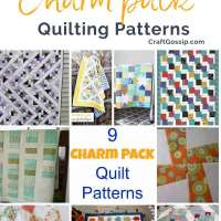 9 Charm Pack Quilt Patterns