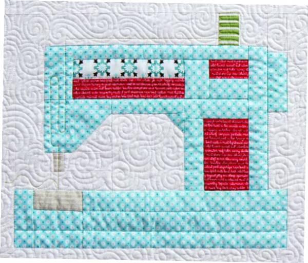 Block 2 Sewing Machine Snapshots QAL