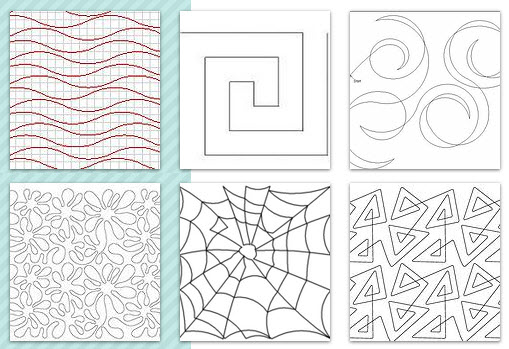 Quilt Pattern Catalog long arm free motion