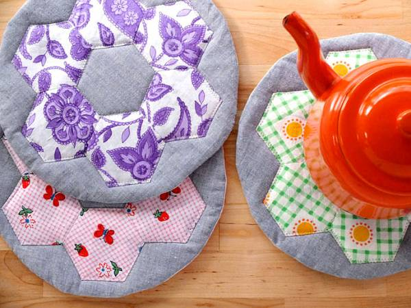 Hexie Hot Pads Tutorial My Poppet