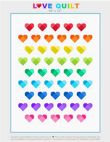 Love Quilt Orlando Survivors Happy Zombie