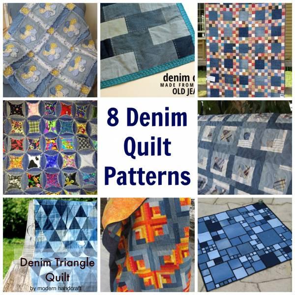 8 Denim Quilt Patterns – Quilting : jean quilts ideas - Adamdwight.com