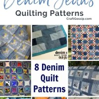8 Denim Jean Quilt Patterns