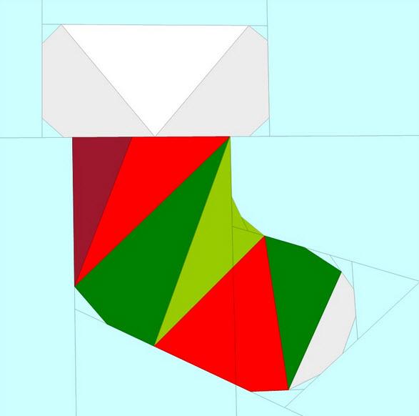 geometricchristmassockfreepattern