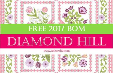 FREE 2017 BOM {Diamond Hill}
