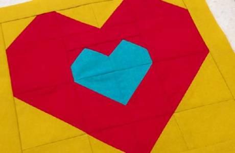Tutorial: 'Love Within' heart block