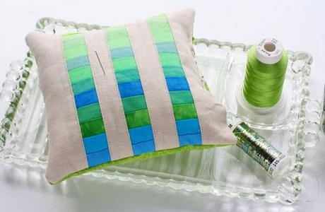 Tutorial: Pin cushion pillow