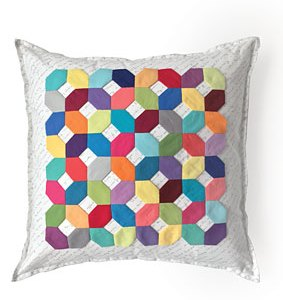 Modern Honeycomb Pillow Pattern Download
