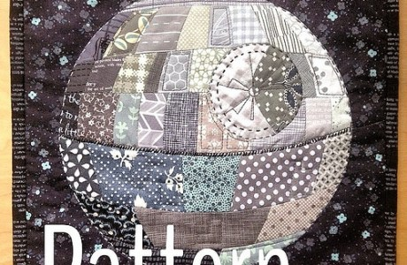 Death Star Patchwork Quilt