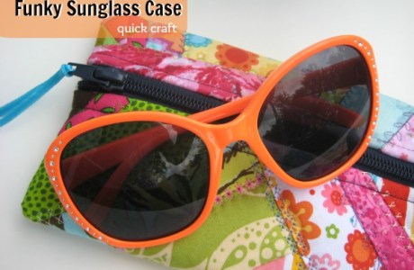 Patchwork Sunglasses Case Tutorial