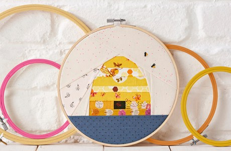 Free Bee Hive Quilting Pattern