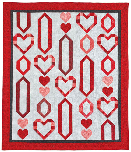 Chain Of Hearts Quilt Pattern