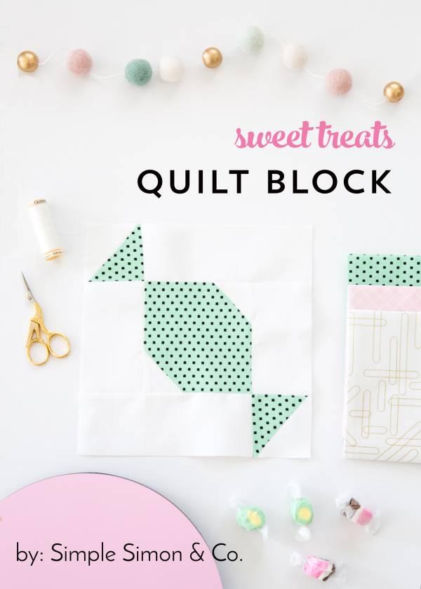 Sweet Treats Quilting Block
