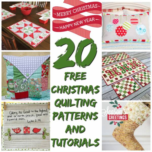 Free Christmas Quilt Patterns Quilting