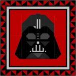 Quilt Block Pattern - Darth Vader