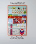 Quilted Hanging Organizer Tutorial