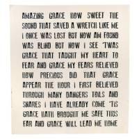 Amazing Grace Religious Quilt Panel