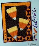 Pat Sloan - Halloween Candy Corn Mini Quilt