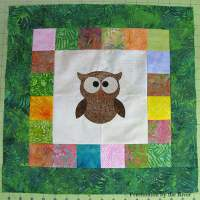 Owl Quilt Block Tutorial - Free Pattern