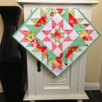 Mini Star Cluster Quilt Pattern
