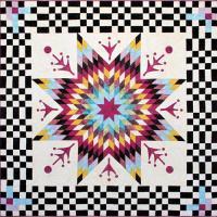 Free Hoffman Fabrics Lone Star Quilt Pattern