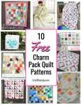 10 Free Charm Pack Quilt Patterns
