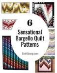 6 Sensational Bargello Quilt Patterns
