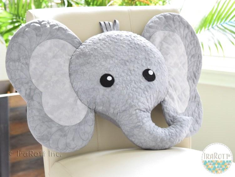 Jeffery Elephant Pillow by IraRott
