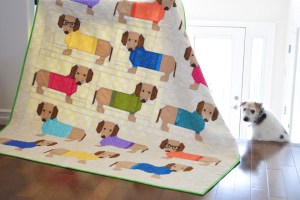 Dogs In Sweater Quilt