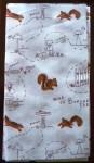 Map of Buried Treasure Fabric