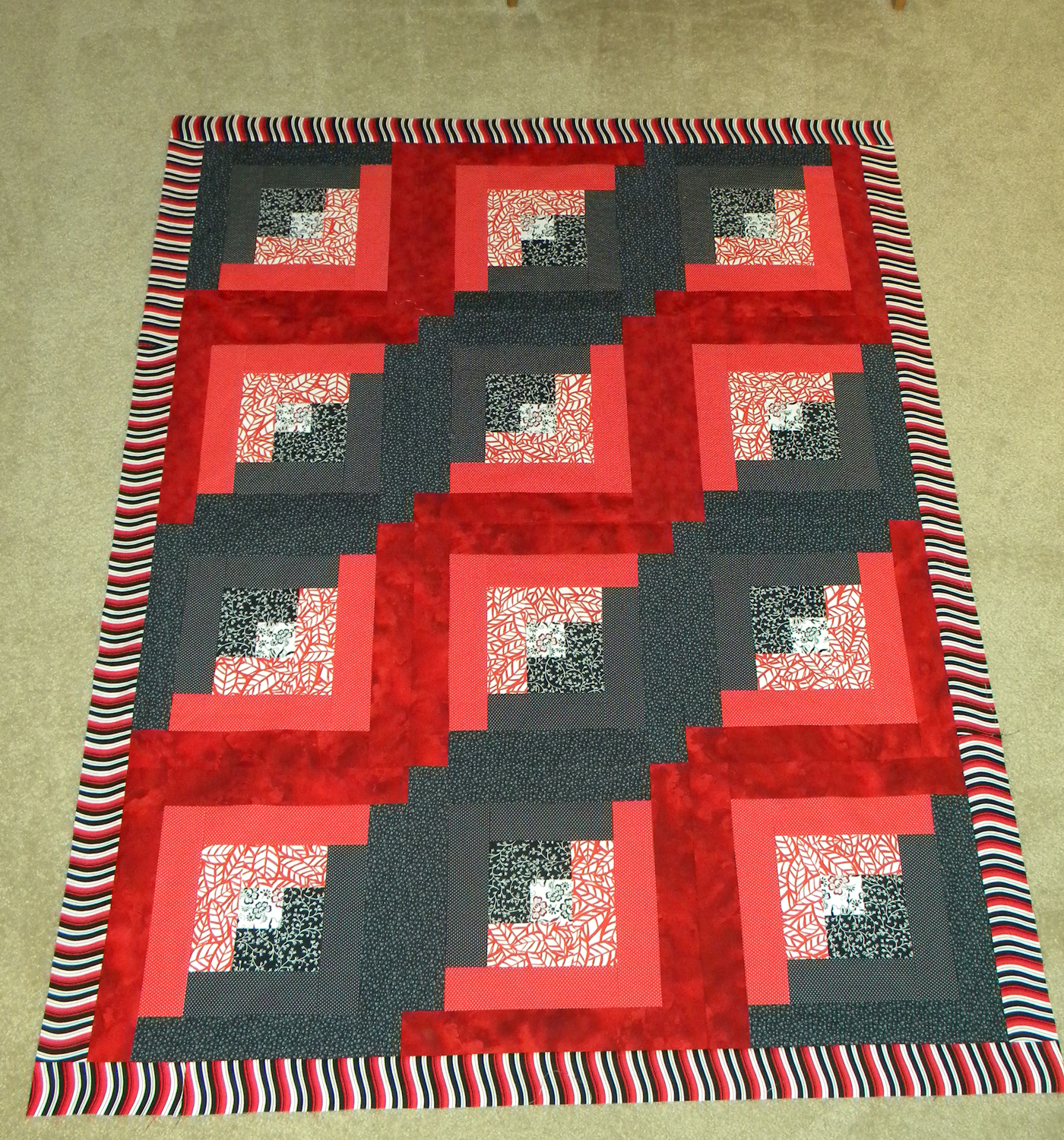 Quilt for Mr. O - Pieced Top