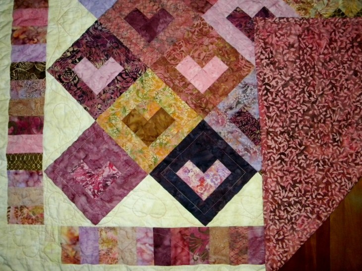 Bali Love Song - Quilting Detail