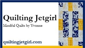 Quilting Jetgirl - Mindful Quilts by Yvonne