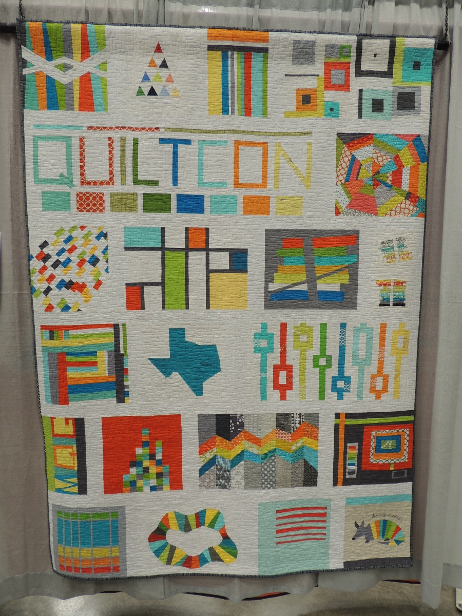 QuiltCon 2013 Raffle Quilt