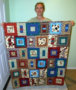 Kampner Baby Quilt - Finished Quilt