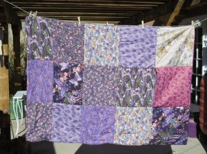"""Pillow Quilt - Front with """"Pocket"""""""