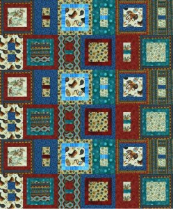 Kampner Baby Quilt - Sample