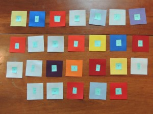 Synesthetic Alphabet - Alphabet Blocks