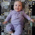 Lillie (5 Months) and Quilt