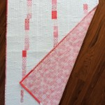 Spring Rain Baby Quilt II - Completed Quilt