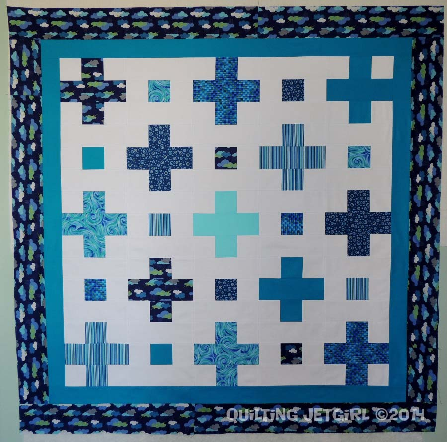 Positive Nap Quilt - Pieced Top