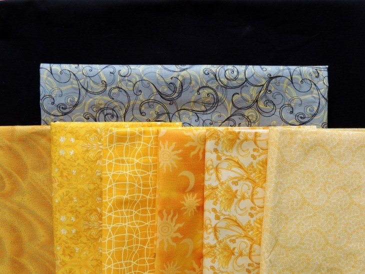 Foothills Mystery Quilt - Fabric Selection