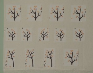 Fussy Cut Trees