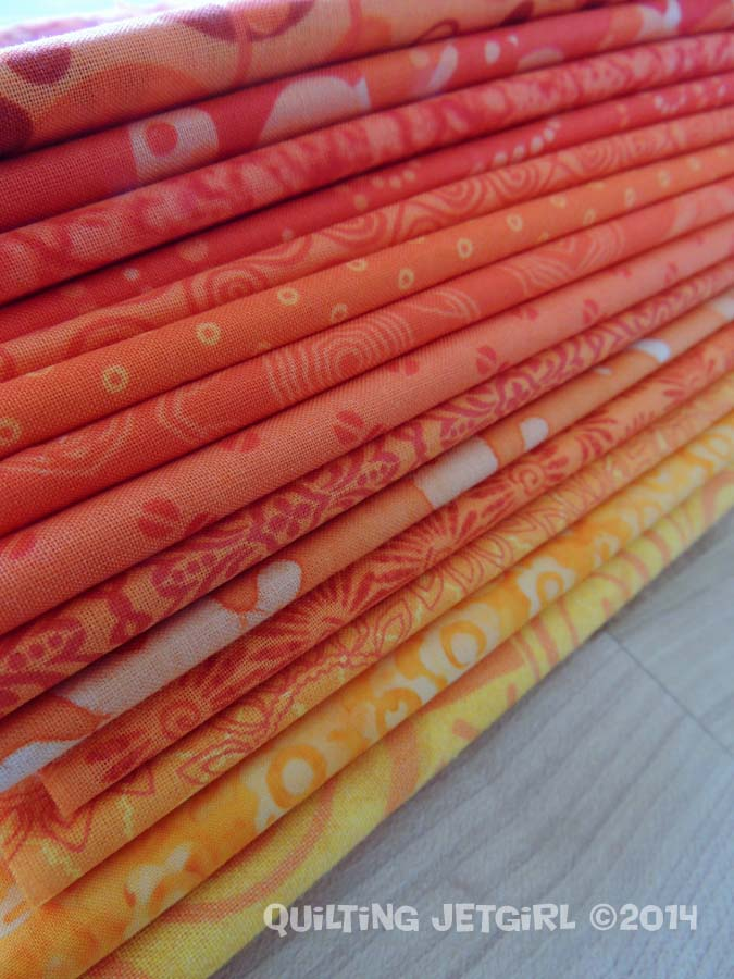 Orange Crush - Fabric Pull
