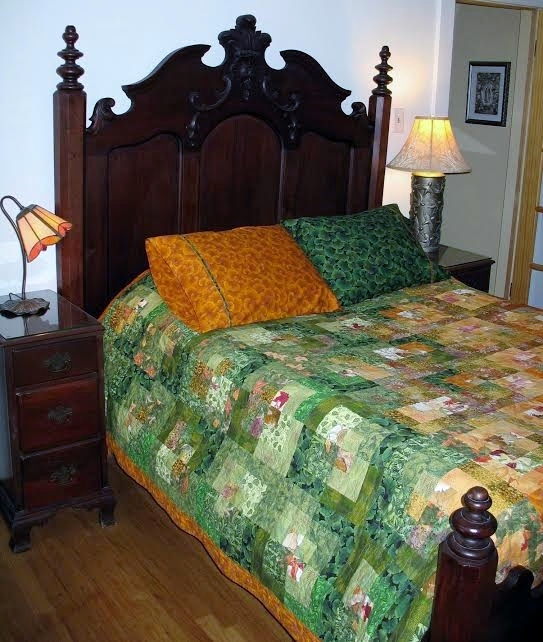 Ginkgo Pillowcases In Use